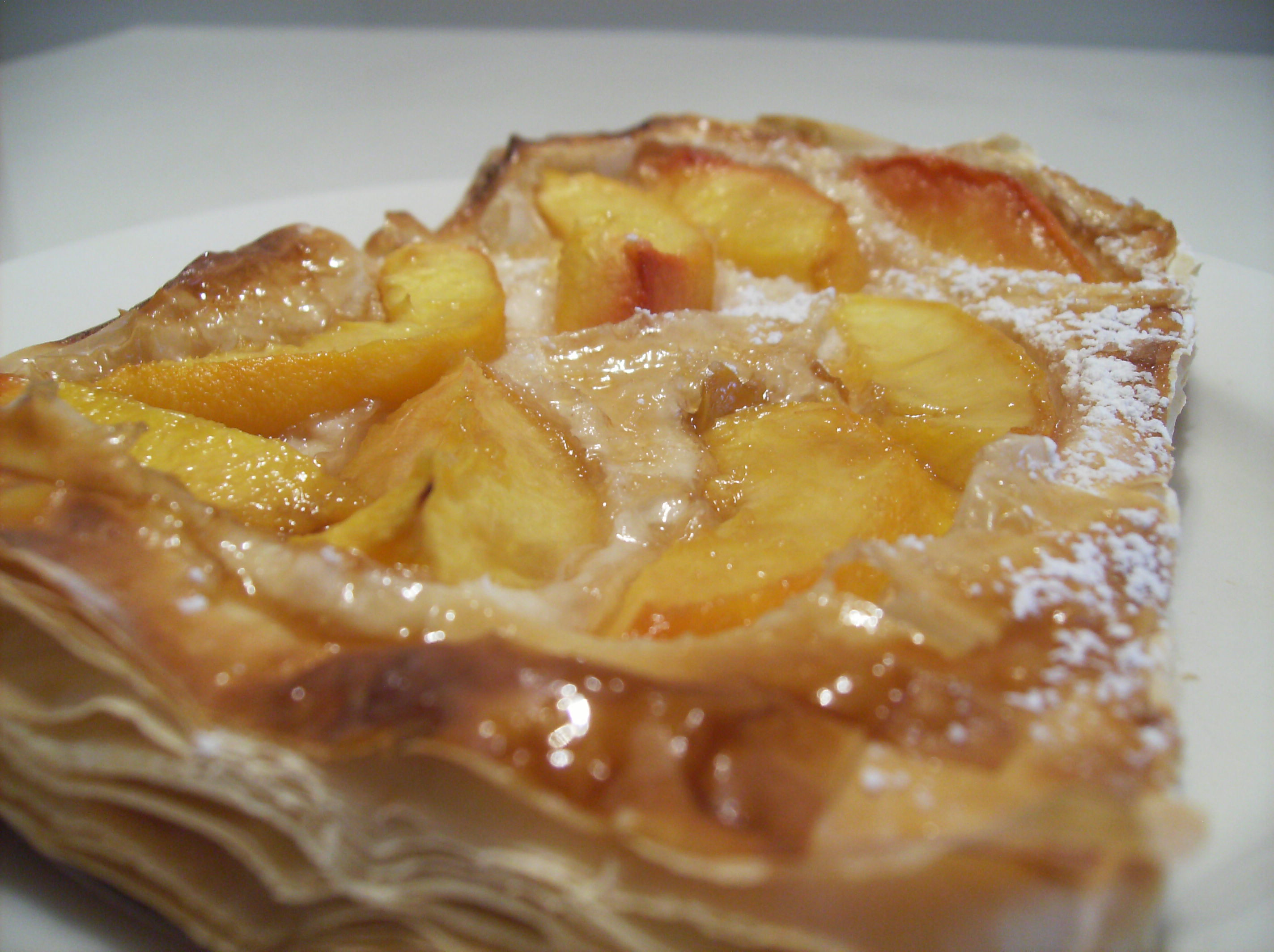 Peach Galette Recipe — Dishmaps