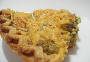 Vegan Quiche 011