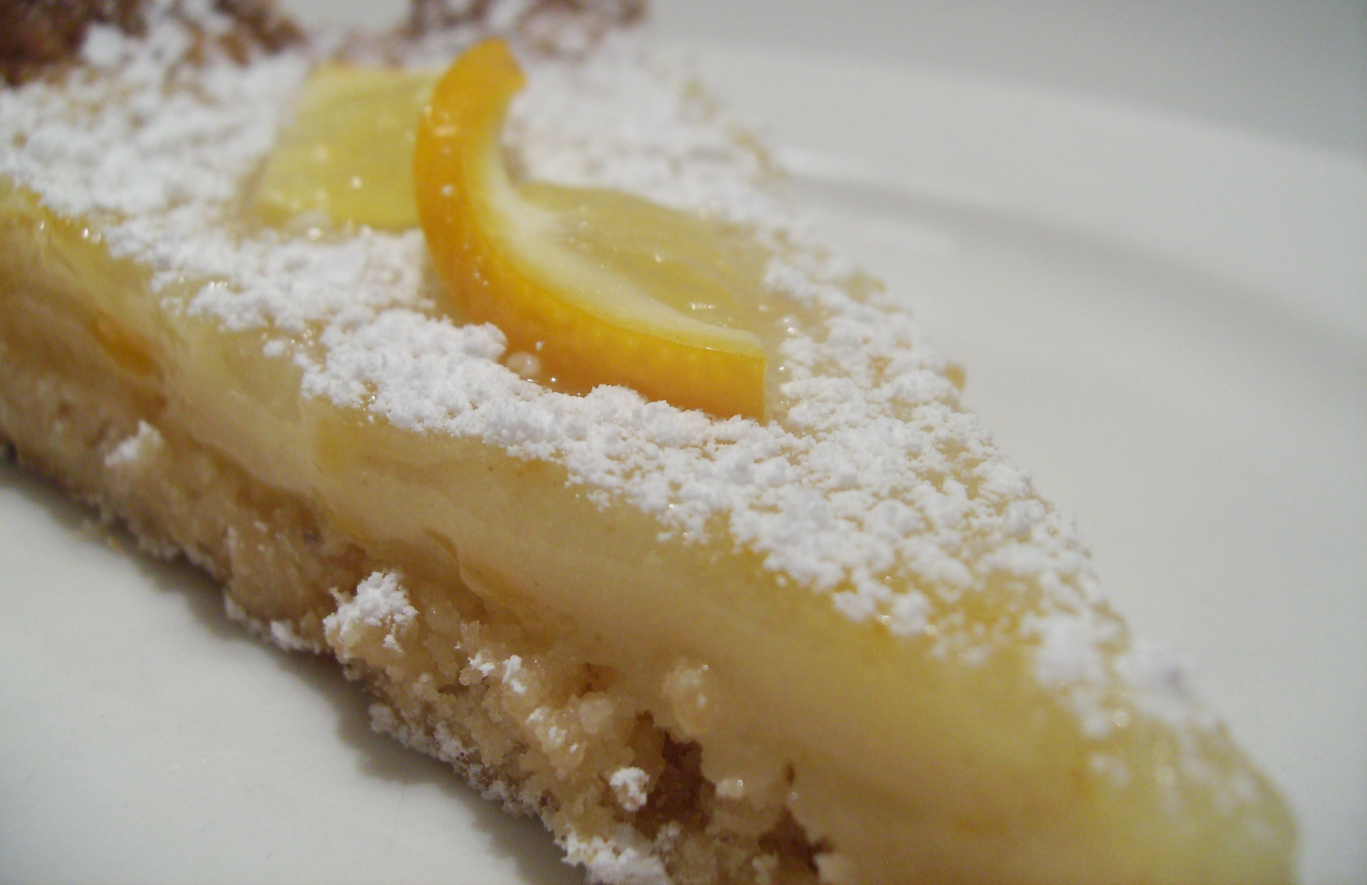 ... » Blog Archive 3/7 Meyer Lemon Tart » Exploits of a Vegan Wannabe